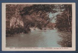89 YONNE - CP QUARRE LES TOMBES - LA VERDIERE BARRAGE DE LA SCIERIE - BAZIN EDIT. 6-34 - N° 406-3 - ARTISTIC PARIS - Quarre Les Tombes