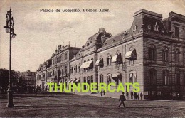 ARGENTINE  ARGENTINA   BUENOS AIRES AYRES PALACIO DE GOBIERNO  REPUBLICA  NO 15 ATTELAGE TRAM - Argentine