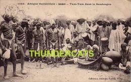 COLLECTION GENERALE FORTIER DAKAR AFRIQUE OCCIDENTALE SOUDAN TAM TAM DANS LE BENDOUGOU - Soudan