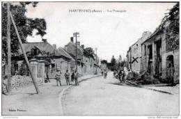02 - HARTENNES - RUE PRINCIPALE - Vic Sur Aisne