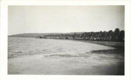 PLAGE DE NOUVELLE-CALEDONIE 1930 PHOTOGRAPHIE PAR GEORGES NEWLAND OCEANIE - Unclassified