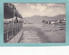 Ecrite à STRESA  -  Sul  Lago  Maggiore.  -  1910  - - Italia