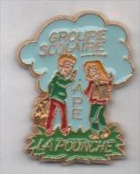 Ville D' Allauch , école La Pounche , APE - Villes