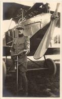 Aviateur Albert Cuendet -  1918 - Né à Ste-Croix - Aviation - Avion - Aviadores
