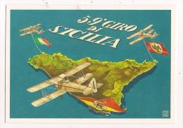 CARTOLINA 59° GIRO AEREO - PALERMO - 2 - Aerodrome