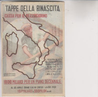 TAPPE DELLA RINASCITA - Cassa Per Il Mezzogiono Congresso Filatelico Dello Stretto 1955 - Manifestazioni