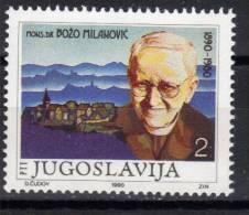 Yugoslavia,100 Years Of Birth-B.Milanović 1990.,MNH - 1945-1992 Socialist Federal Republic Of Yugoslavia