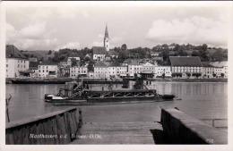 Oberösterreich, MAUTHAUSEN, Fähre, Fotokarte Gelaufen 1952, Schöne 2 Fach Frankierung, Gute Erhaltung - Autriche