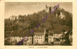 68. FERRETTE . Les Deux Ruines . - Ferrette