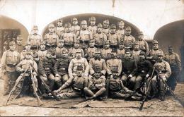 Österreich, WK I Soldatengruppe Mit Gewehren, Fotokarte 1915? - Regimente
