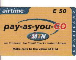 Swaziland, MTN, E50, Airtime - Swaziland