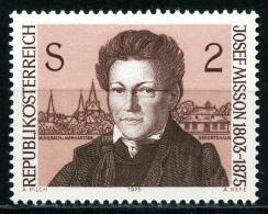 Österreich - Michel 1489 - ** Postfrisch - Josef Misson - Wert: 0,40 Mi€ - 1945-.... 2ª República