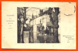 VENDOME - Inondations Loir 1910 - N° 3   (  L65 ) - Vendome