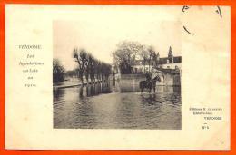 VENDOME - Inondations Loir 1910 - N° 5   (  L65 ) - Vendome
