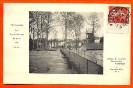 VENDOME - Inondations Loir 1910 - Deuxieme Série N° 1   ( L65 ) - Vendome
