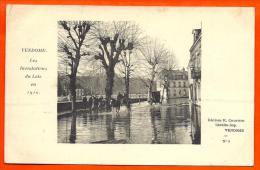 VENDOME - Inondations Loir 1910 - N° 6   ( L65 ) - Vendome