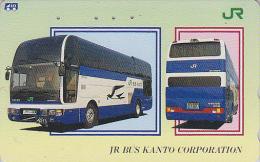 Télécarte Japon - CAR AUTOCAR / JR Canto - BUS Japan Phonecard - AUTOBUS Telefonkarte - 967 - Voitures