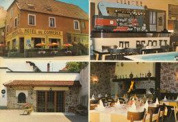 70 VILLERSEXEL  CPSM Couleur  HOTEL Du Commerce Restaurant MOUGIN Roland 4 Vues Dont Terrasse  BAR Et Salle à Manger - Non Classificati