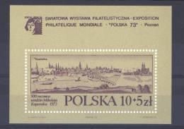 Pologne  -  Blocs  -  1973  :  Yv  81  **  Copernic - Blocks & Sheetlets & Panes