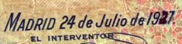 ERROR - 500 Pesetas 1927 Con Fecha 1947 Rectificado  -  MUY RARO - Ver Foto Ampliada - 500 Pesetas