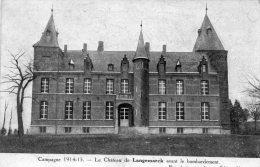 CPA -  LANGEMARCK - 874 - Langemark-Poelkapelle