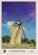SPAGNA--ISOLE BALEARES--FORMENTERA--MOLINO DE VIENTO--WINDMILL--FG--V 29-8-94 - Formentera