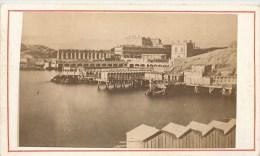 PHOTOGRAPHIE CDV 1870 : MARSEILLE BAINS DE MER DES CATALANS 13 - Photographs