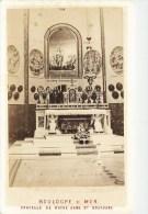 PHOTOGRAPHIE CDV 1870 : BOULOGNE-SUR-MER LA CHAPELLE DE NOTRE-DAME DE BOULOGNE AUTEL 62 - Photos
