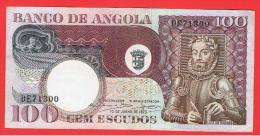 ANGOLA - 100 Escudos 1973 SC-  P-106 - Angola