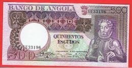 ANGOLA - 500 Escudos 1973 SC  P-106 - Angola