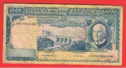 ANGOLA - 1000 Escudos  1962  P-96 - Angola