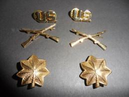 Insignes US Army 1939 - 1945 - Reproduction - Armée De Terre