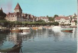 OUCHY-LAUSANNE - Le Port Et Le Château - Cartes Postales