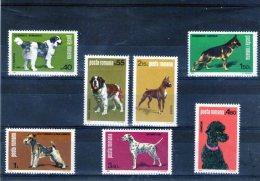 1981 Exposition Canine Nationale  Mi No 3762/3768 Et Yv 3313/3319 MNH - 1948-.... Republiken
