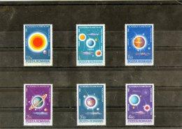 1981 - Alignament Rare Des Planetes Mi 3795/3800 Et Yv P.A. 269/274 MNH - 1948-.... Republiken