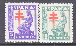 Spain RA 21-2  *  T.B. Issue - Bienfaisance