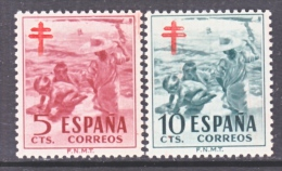 Spain RA 32-3  *  T.B. Issue - Bienfaisance