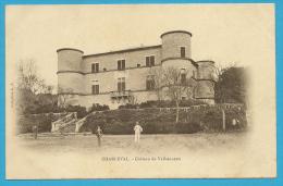 13 : Charleval , Ch. De Valbonnette .... - France