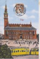 Kopenhagen   København             Raadhuset                 Tram             Scan 4498 - Danemark