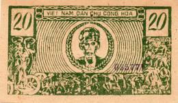 VIETNAM : 20 Dong 1946 (unc) - Viêt-Nam