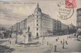 Bilboa                Placa Circular. Banca De Vizcaya               Scan 4513 - Vizcaya (Bilbao)