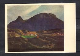 38-319 //  ROCKWELL KENT -  HOLSTENBORG. SOUTH GREENLAND P/C  1965 - Schilderijen