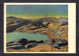 38-323 //  ROCKWELL KENT -  WEST  GREENLAND HINTERLAND   P/C  1965 - Schilderijen
