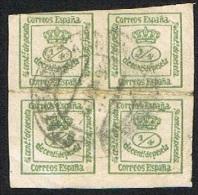 Ed. 173 Corona Real Usada - Oblitérés
