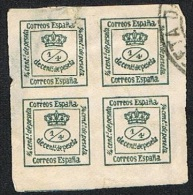 Ed. 173 Corona Real Usada - 1850-68 Royaume: Isabelle II