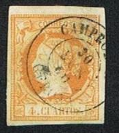 Ed. 52 Isabel II Usado Camprodon Girona - 1850-68 Royaume: Isabelle II