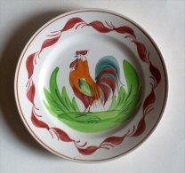 SAINT AMAND° - Assiette Au Coq - Plate Rooster - Hanenbord - SE397