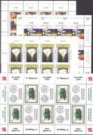 AUSTRIA ÖSTERREICH KLEINBOGEN 1988 - 2001 (20 KLBG)  MNH / ** / POSTFRISCH - Blocs & Feuillets