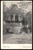 ALTE POSTKARTE DIFFERDINGEN PARK GERLACH DIFFERDANGE Frau & Kind Enfant Child Luxemburg Luxembourg Cpa Postcard - Differdingen