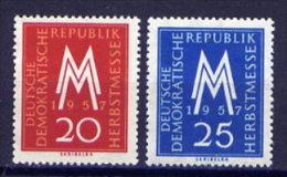 DDR Nr.596/7             **  Mint       (4332)   ( Jahr: 1957 ) - DDR
